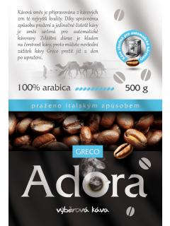 Zrnková káva - Adora - směs kávy arabica 100%