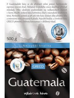 Káva zrnková - Guatemala 100% arabica