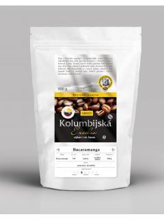 Káva zrnková - Kolumbie Bucaramanga 100% arabica