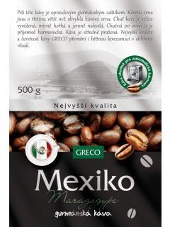Káva zrnková - Mexiko Maragogype 100% arabica