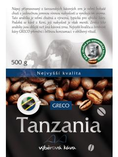 Káva zrnková - Tanzanie AA 100% arabica