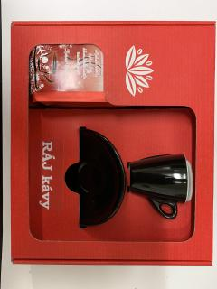 Vanocni kava s salkem 90 ml černy